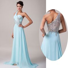 Stunning Beading Back Evening/Formal/Ball gown/Party/Pageant/Prom Dresses Long w #GraceKarin #BallGown #Formal