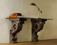 Absolutely love this desk. It would look gorgeous with a granite top!