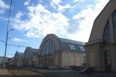 Marché central (anciens hangars à Zeppelins). Riga.