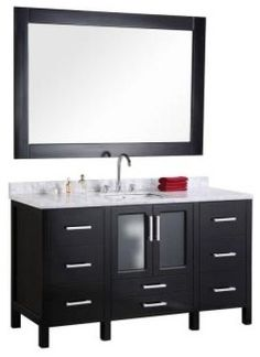 """Stanton 60"""" Single Sink Vanity Set $1,169"""