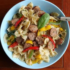 Pasta with Sausage and Peppers | Recipes | Spoonful
