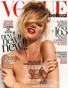 Candice Swanepoel for Vogue Spain Beauty - May 2013