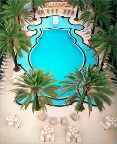 Art Deco Pool - Raleigh Hotel Miami