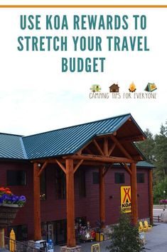 KOA Rewards and how can you use them to stretch your camping budget! The KOA Value Kard Rewards program offers camping discounts Rv Camping Tips, Camping For Beginners, Camping Style, Camping Glamping, Camping Ideas, Free Hotel, Hotel Stay, Ways To Travel, Rv Life