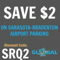 SRQ Sarasota-Bradenton Airport Parking Coupon
