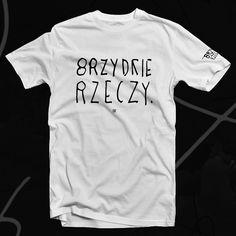 Brzydkie Rzeczy koszulka bawełna unisex biała