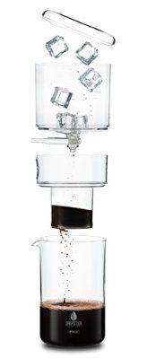 DRIPSTER Cold Drip Coffee Maker (4 Tassen / 500ml), Dripper für Cold Brew Kaffee