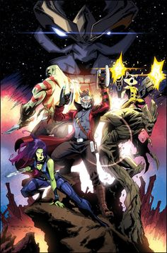 Guardians of the Galaxy - Khary Randolph