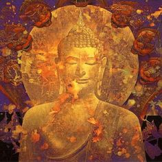 Serenity in the midst of chaos Countries Of Asia, Buddhist Philosophy, Eastern Philosophy, Buddha Art, Buddha Buddhism, Archetypes, Art Pictures, Creative Art, Serenity