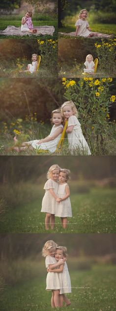 These sisters. I can't even do these sessions justice in a blog post. They are SO MUCH FUN. It's really special to see them each year and see how much they've grown. These girls a…