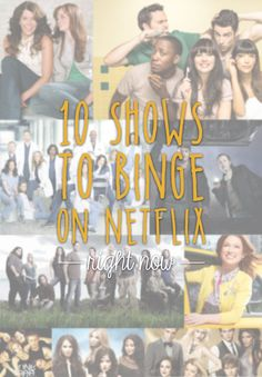Looking for your new TV shows to binge? I've got 10 of my favorites, all available for free streaming on Netflix at time of writing!