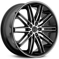 22 Quot Rohana Rc10 Machined Concave Wheels Rims Fits Chrysler