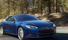 "Tesla Model S 70D : zero-emission electric cars  2015 Tesla Model S 70D in new Ocean Blue color   with the ""D"" in the name  that it packs the automaker's dual-motor drive system starting price of $75k   Model S 70D,  drive electric car with a 0-60 time of 5.2 seconds and a 240 mile range at 65 mph.    We report a brand-new version of the base model in its signature. 