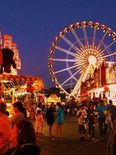 Night Aesthetic, Summer Aesthetic, Summer Nights, Summer Vibes, Orange County Fair, La County Fair, The Last Summer, Carnival Rides, Fun Fair