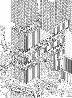 axonometric building