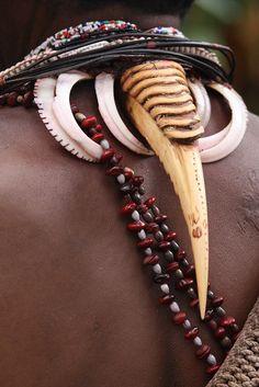 Papua New Guinea   Adornment detail   ©Rudi Roels.