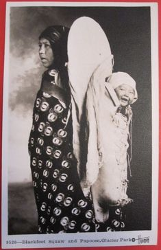 BLACKFEET MOTHER AND CHILD