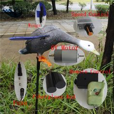 69.66$  Watch now - http://ali3df.worldwells.pw/go.php?t=32782037250 - Wholesale Outdoor Hunting  6V Motor Duck Decoy Plastic  Mallard Duck Decoys From Xilei