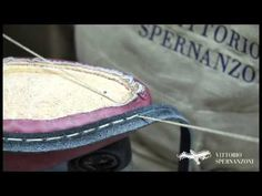 Vittorio Spernanzoni - handmade welting italian shoes - YouTube