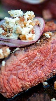 Bacon & Blue Cheese Steak