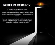 ACTIVITY Escape The Room NYC In New York NY We Did This Chicago