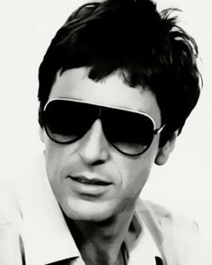 Al Pacino Promotional Photograph in sunglasses as Scarface Al Pacino, I Movie, Movie Stars, People With Glasses, Gangster Films, Whatever Forever, Film Icon, British Academy Film Awards, Hello To Myself