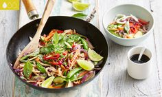A vegetarian stir fry is an easy every day meal for the whole family. Try this delicious recipe for the perfect balance!