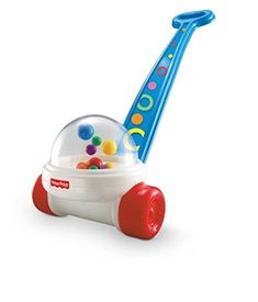Fisher-Price Brilliant Basics Corn Popper CustomerPackageType: Standard Packaging NewBorn, Kid, Child, Childern, Infant, Baby. Balls strike plastic dome and create a fun Poppity-Pop sound and action. Sturdy design for beginning walkers. A classic toy to keep your baby engaged. Popping with colorful balls to entertain and encourage walking, as well as counting and visual. A must have for all toddlers.