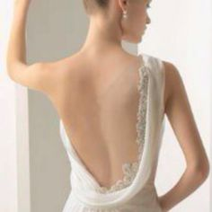 Grecian Goddess Wedding Dress