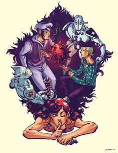 Jojolion and the Fruit by dkirbyj on DeviantArt