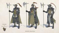 Royal Guards, Joseph Weston on ArtStation at https://www.artstation.com/artwork/royal-guards-6b18516d-0703-4802-b407-fe571296f46d