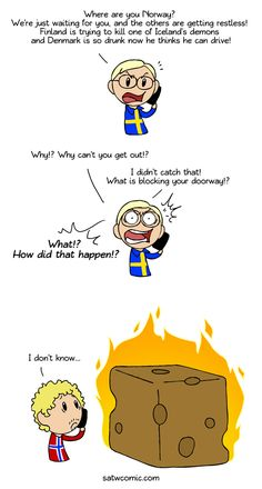 Some awesome randomness from Scandinavia and the World!