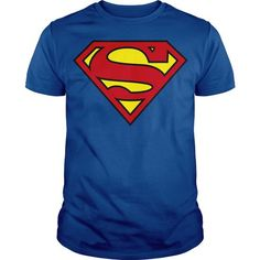 Superman DC classic logo  - #long sleeve shirt #kids hoodies. OBTAIN LOWEST PRICE => https://www.sunfrog.com/Geek-Tech/Superman-DC-classic-logo-.html?id=60505