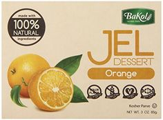 * Truly awesome deals: Bakol Jel Dessert, Orange, 3 Ounce (Pack of 12) at baking desserts recipes.