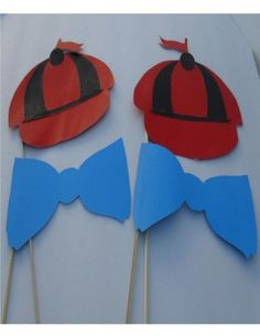 Whimsical Alice in Wonderland Party Props on a Stick!!
