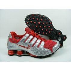 the latest a0597 4e2bd Nike Shox NZ Silver Red Black Men Shoes Sale   79.59