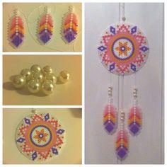 Dreamcatcher hama perler beads by lobbiz