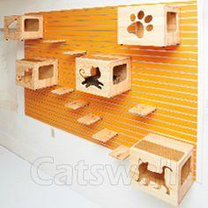 modular, customizable cat walls?  yes, please.