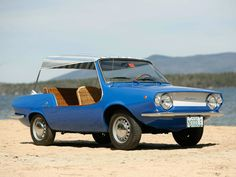 1968 Fiat 850 Shellette by Michelotti, which only 80 were ever made.