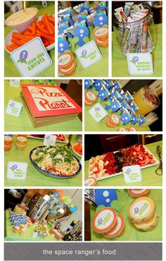 Epic Buzz Lightyear party. Most definitely doing this for my future boy or girl!