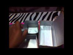 Faça Você Mesmo: Caixa Organizadora de Makes com Caixa de Leite - YouTube