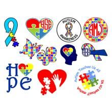 Charities and Causes | Apex Embroidery Designs, Monogram Fonts & Alphabets