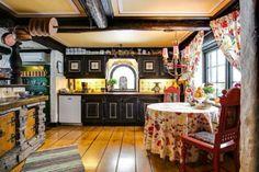 Rustic Scandinavian House