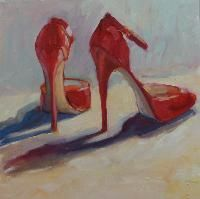 Yes...shoes are art! Love this painting.