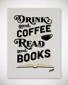 kawa + książki