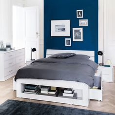 Ensemble lit, tout en un, pin massif, ireka La Redoute Interieurs | La Redoute 140x 190 350E