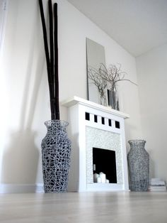 How To: Create a Faux Fireplace — Patricia's February Jumpstart Project 2009   Apartment Therapy