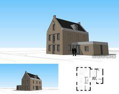'Het Pakhuis'   Klassieke woning met industriële details   Hoogeveen New Homes, Floor Plans, New Home Essentials, House Floor Plans, Floor Plan Drawing