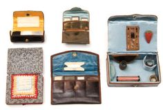 Various Sewing Case, Sewing Box, Sewing Tools, Sewing Kits, Needle Book, Needle And Thread, Sewing Accessories, Haberdashery, Sewing Techniques