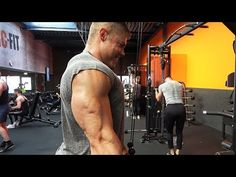 MASS Workout for Triceps & Delts - Classic Bodybuilding Tricep Pushdown, Lateral Raises, Triceps Workout, French Press, Genetics, Bodybuilding Youtube, Gym, Classic, Routine